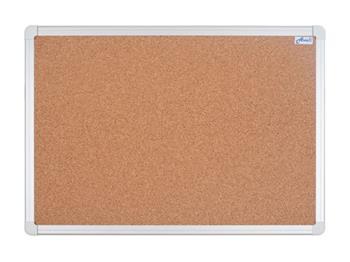 Korková nástěnka AVELI 90x60, hliníkový rám