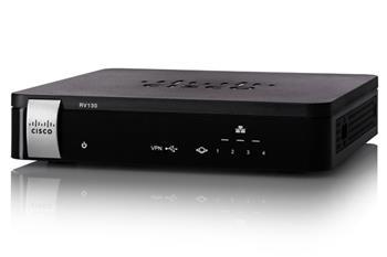 Cisco RV130, 1x Gigabit WAN, 4x Gigabit LAN VPN Router REFRESH