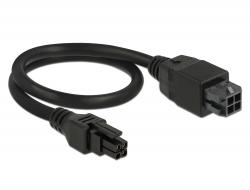 Delock Micro Fit 3.0 4 pin prodlužovací kabel samec > samice 30 cm