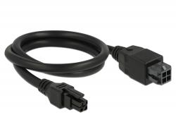 Delock Micro Fit 3.0 4 pin prodlužovací kabel samec > samice 50 cm
