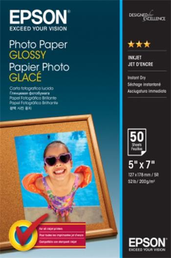 EPSON paper 13x18 - 200g/m2 - 50sheets - photo paper glossy