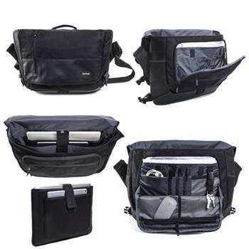 BackLoad Messenger Workbag L (BLMW-L-001) black