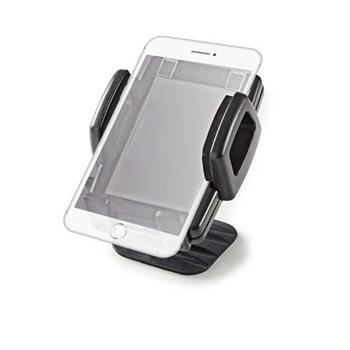 Nedis SCMT600BK - Držák smartphonu do auta   3 v 1   Ventilační Otvor / Přísavka / Samolepka