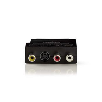 Nedis CVBW31902AT - Adaptér SCART | SCART Zástrčka - 3x RCA Zásuvka + S-Video Zásuvka