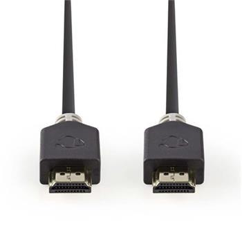Nedis CVBW34000AT05 - Kabel High Speed HDMI™ s Ethernetem | Konektor HDMI™ - Konektor HDMI™ | 0,5 m | Antracit