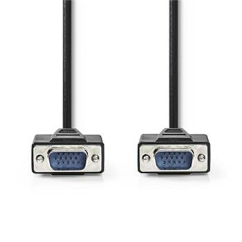 Nedis CCGP59000BK200 - Kabel VGA | VGA Zástrčka - VGA Zástrčka | 20 m | Černá barva