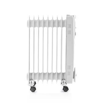 Nedis HTOI10EWT9 - Přenosný Olejový Radiátor | 2 000 W | Bílá barva