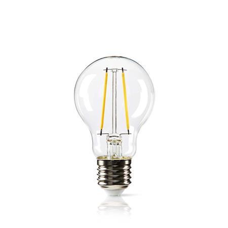Nedis LEDBDFE27A60GD - Stmívatelná LED Retro Žárovka s Vláknem E27 | A60 | 5,4 W | 470 lm