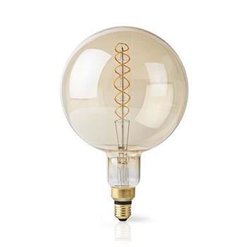 Nedis LEDBFE27G95 - Stmívatelná LED Retro Žárovka s Vláknem E27 | G95 | 8,3 W | 806 lm