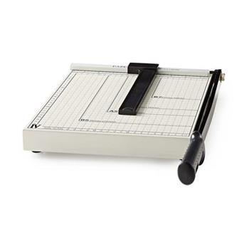 Nedis PACU110A4 - Řezačka Na Papír | Velikost A4 | Kovová Čepel