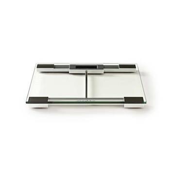Nedis PESC110DCT - Digitální Osobní Váhy | Tvrzené sklo