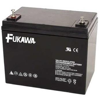 akumulátor FUKAWA FWL 75-12 (12V; 75Ah; závit M6; životnost 10let)