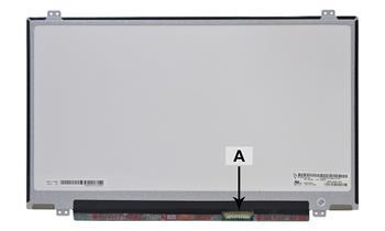 2-Power náhradní LCD panel pro notebook 14.0 HD+ 1600x900 LED matný 40pin