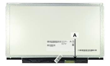 2-Power náhradní LCD panel pro notebook 13.3' WXGA HD 1366x768 LED lesklý 40pin