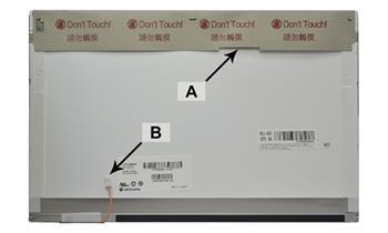 2-Power náhradní LCD panel pro notebook 15.4' WXGA 1280x800 CCFL1 lesklý 30pin