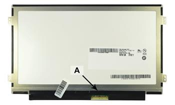 2-Power náhradní LCD panel pro notebook 10.1' WSVGA 1024x600 LED lesklý 40pin