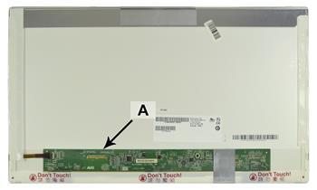 2-Power náhradní LCD panel pro notebook 17.3 HD+ 1600x900 LED lesklý 40pin