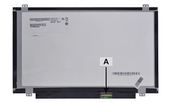 2-Power náhradní LCD panel pro notebook 14.0 WXGA HD 1366x768 LED matný 40pin
