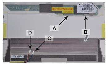 2-Power náhradní LCD panel pro notebook 18.4 WUXGA 1920x1080 CCFL2 matný 30pin