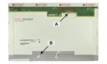 2-Power náhradní LCD panel pro notebook 17.1 WXGA+ 1440x900 CCFL1 lesklý 30pin