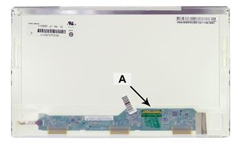 2-Power náhradní LCD panel pro notebook 13.3 HD 1366x768 LED lesklý 40pin