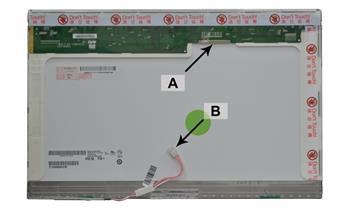 2-Power náhradní LCD panel pro notebook 15.4 WSXGA+ 1680x1050 CCFL1 matný 30pin