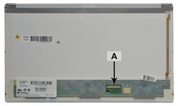 2-Power náhradní LCD panel pro notebook 14.0 HD 1366x768 LED matný 40pin