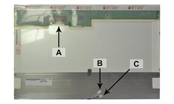2-Power náhradní LCD panel pro notebook 20 WSXGA 1680x1050 LED lesklý 40pin