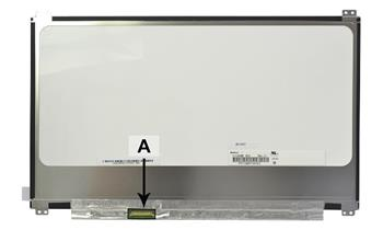 2-Power náhradní LCD panel pro notebook 13.3 1920x1080 FHD LED matný IPS 30pin