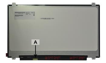2-Power náhradní LCD panel pro notebook 17.3 1600x900 HD+ LED matný
