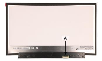 2-Power náhradní LCD panel pro notebook 13.3 1920x1080 WUXGA HD matný (300mm)