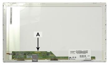 2-Power náhradní LCD panel pro notebook 15.6 1366x768 WXGA HD LED matný 30pin