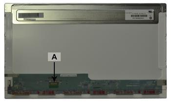 2-Power náhradní LCD panel pro notebook 17.3 Full HD 1920x1080 LED lesklý 30pin
