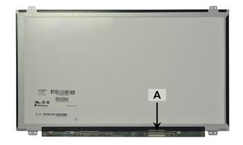 2-Power náhradní LCD panel pro notebook 15.6 1920x1080 WUXGA LED FHD lesklý 40pin