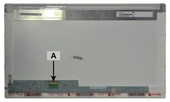 2-Power náhradní LCD panel pro notebook 17.3 1600x900 WXGA+ HD+ LED lesklý 30pin