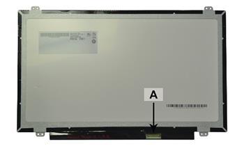 2-Power náhradní LCD panel pro notebook 14.0 1366x768 WXGA HD LED lesklý 30pin