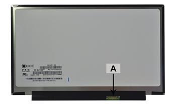 2-Power náhradní LCD panel pro notebook 12.5 1366x768 WXGA HD LED matný 30pin