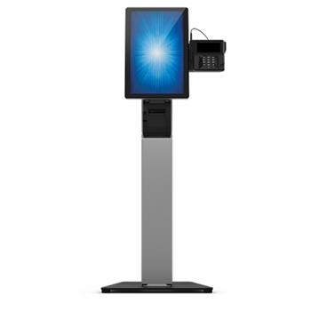 Wallaby self-service floor stand extension (requires countertop stand E062324 for complete self-service floor stand)