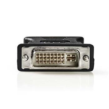 Nedis CCGP32900BK - DVI – VGA Adaptér | DVI-I 24+5-Pin Zástrčka - VGA Zásuvka