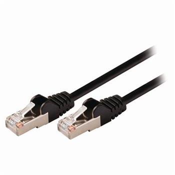 Nedis CCGP85121BK025 - Síťový Kabel Cat 5e SF / UTP | RJ45 Zástrčka - RJ45 Zástrčka | 0,25 m | Černá barva