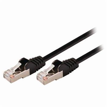 Nedis CCGP85121BK05 - Síťový Kabel Cat 5e SF / UTP | RJ45 Zástrčka - RJ45 Zástrčka | 0,5 m | Černá barva
