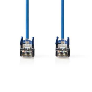 Nedis CCGP85121BU05 - Síťový Kabel Cat 5e SF / UTP | RJ45 Zástrčka - RJ45 Zástrčka | 0,5 m | Modrá