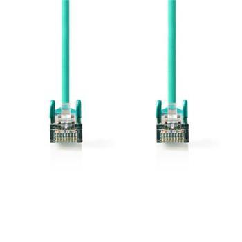 Nedis CCGP85121GN025 - Síťový Kabel Cat 5e SF / UTP | RJ45 Zástrčka - RJ45 Zástrčka | 0,25 m | Zelená