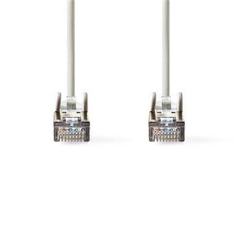 Nedis CCGP85121GY025 - Síťový Kabel Cat 5e SF / UTP | RJ45 Zástrčka - RJ45 Zástrčka | 0,25 m | Šedá barva