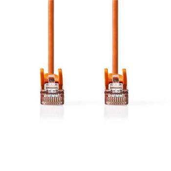 Nedis CCGP85121OG05 - Síťový Kabel Cat 5e SF / UTP | RJ45 Zástrčka - RJ45 Zástrčka | 0,5 m | Oranžový