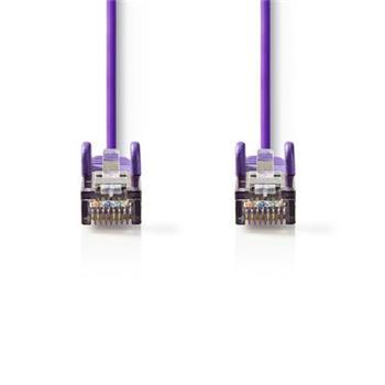 Nedis CCGP85121VT05 - Síťový Kabel Cat 5e SF / UTP | RJ45 Zástrčka - RJ45 Zástrčka | 0,5 m | Fialová