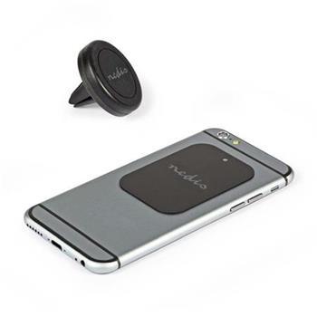 Nedis SCMTM200BK - Držák smartphonu do auta   Univerzální   Magnetický