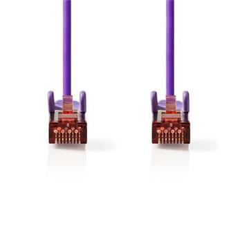 Nedis CCGP85221VT50 - Síťový Kabel Cat 6 S / FTP | RJ45 Zástrčka - RJ45 Zástrčka | 5 m | Fialová