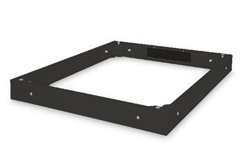 Digitus Plinth for Unique server cabinets 800x1000 mm, color black (RAL 9005)