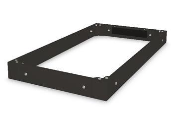 Digitus Plinth for Unique server cabinets 600x1200 mm, color black (RAL 9005)